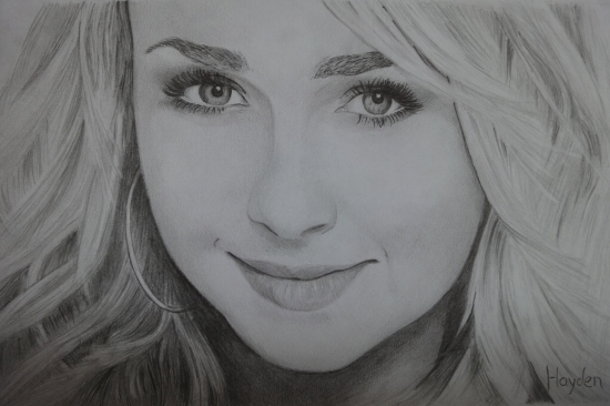 Hayden Panettiere by Roel
